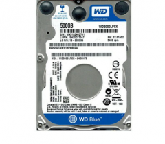 "Накопитель HDD 2.5"" 500 Gb SATA-III Western Digital Scorpio Blue WD5000LPCX 16MB 5400rpm для ноутбук"
