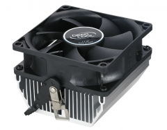 Кулер Deepcool CK-AM209 Soc-AM2/AM3/AM2+/AM3+/FM1/FM2 3pin 28dB Al 65W 224g скоба