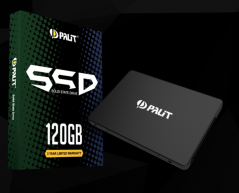 "Накопитель SSD PALIT UV-S 120GB / 2.5"" / SATA III / TLC NAND / UVS10AT-SSD120 / RTL <UVS10AT-SSD120>"