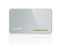 Коммутатор TP-Link TL-SF1008D 8-port 10/100 mini Desktop