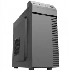 Корпус Sunpro Premier IV, mATX, 450W , 2x USB 2.0 ; Fans (option) : front 1x 12cm, side 1x 12cm, bac