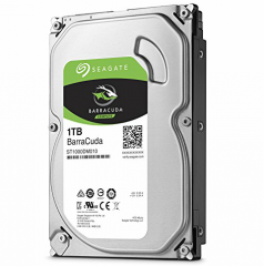 "Накопитель HDD 3.5"" 1Tb SATA-III Seagate Barracuda ST1000DM010 7200rpm 64Mb"