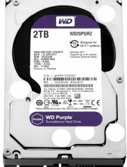 "Накопитель HDD 3.5"" 2Tb SATA-III Western Digital Purple WD20PURZ 64MB 5400rpm"