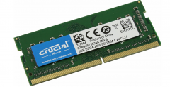 Память SODIMM DDR4 8Gb PC4-19200 Crucial CT8G4SFS824A