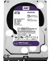 "Накопитель HDD 3.5"" 4Tb SATA-III Western Digital Purple WD40PURZ 64MB IntelliPower"