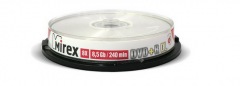 "Диск DVD+R Mirex ""Dual Layer Printable"" 8,5GB, 8x, Cake Box (UL130069A8L)"