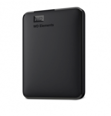 "Накопитель HDD 1000 Gb USB3.0 Western Digital Elements Portable WDBUZG0010BBK-WESN 2,5"" внешний, чер"