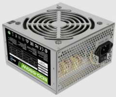 Блок питания Aerocool 550W Retail ECO-550W ATX v2.3 Haswell, fan 12cm, 400mm cable, power cord, 20+4