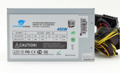 Блоки питания PowerCool (PC450-120-APFC-80P-O) Блок питания ATX 450W PowerCool 120mm APFC 80+ (SCP)\