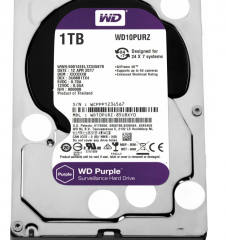 "Накопитель HDD 3.5"" 1Tb SATA-III Western Digital Purple WD10PURZ 5400rpm 64MB"
